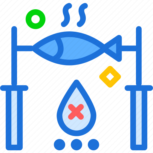 bait, fish, fishhook, food icon
