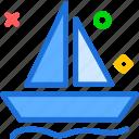 ark, ocean, sailing, sea, sport, water