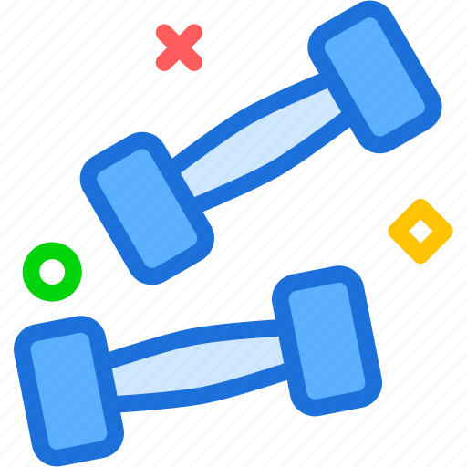 activity, fitness, sport, weights icon