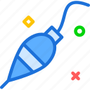 bait, fishing, resistance, water icon