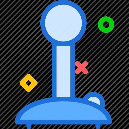 airplane, fly, game, joystick, pilot, travel icon