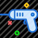 construction, drill, pistol, work