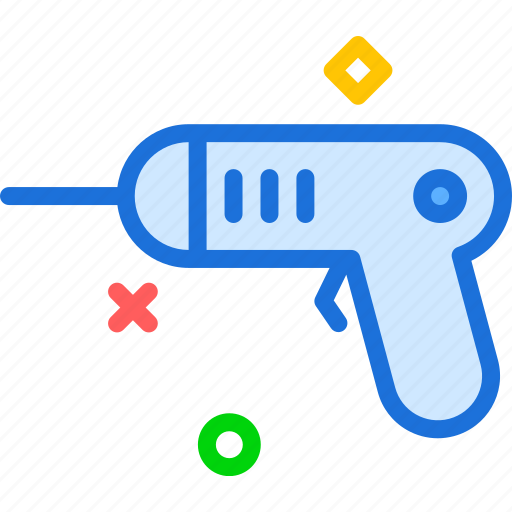 Construction, drill, pistol, work icon - Download on Iconfinder