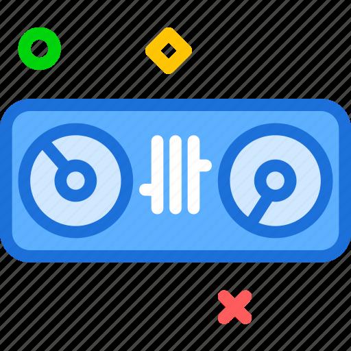 club, dj, mix, mixer, music icon