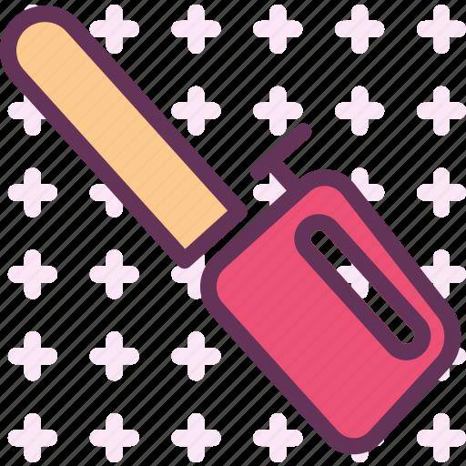 chainsaw, cut, garden, tool, tree, wood icon