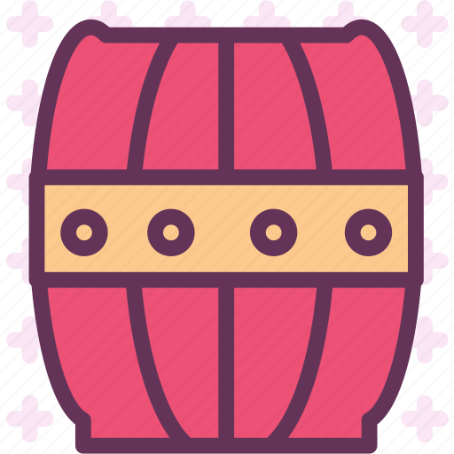 barrel, deposit, wine, wood icon