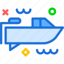 relax, rich, travel, trip, yacht icon