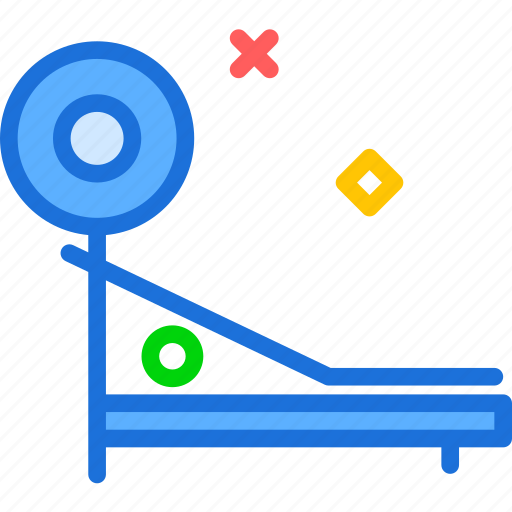 chest, control, excercise, fitness, weight icon
