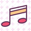 instruments, music, note, score, voice icon