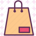 bag, cart, gift, mall, shop icon