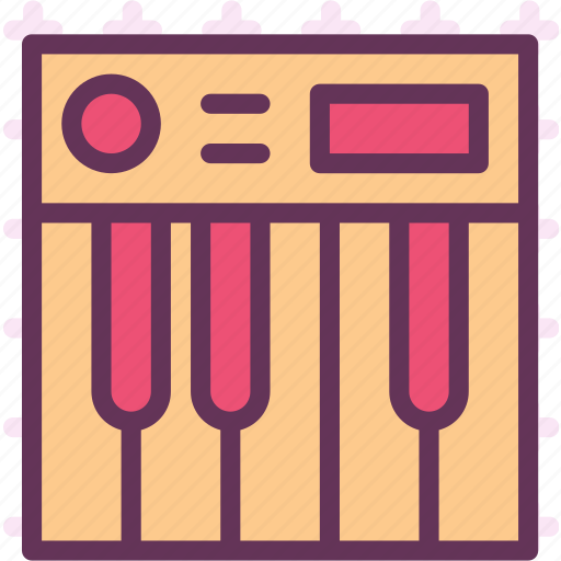 dj, keyboard, mix, music, piano, record, sound icon