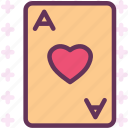 card, club, game, luck, poker icon