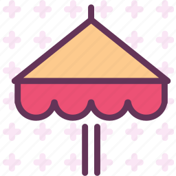 protection, shadow, sun, umbrella icon