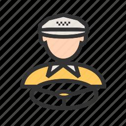 cab, car, driver, driving, taxi, truck, van icon