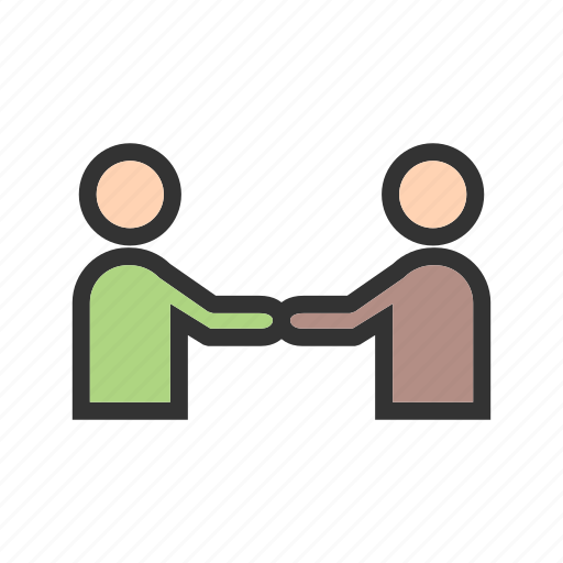 Business, corporate, handshake, meeting, office, people, trust icon - Download on Iconfinder