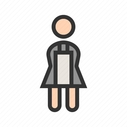 Cleaner, cleaning, hotel, house, maid, room, service icon - Download on Iconfinder