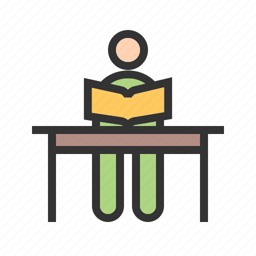 children, class, classroom, group, school, teacher, training icon