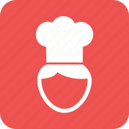 chef, cook, cooking, food, hat, kitchen, uniform icon