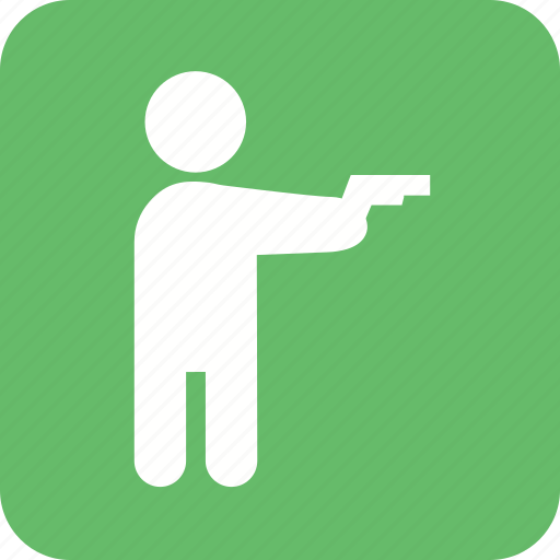 gang, gun, hand, hold, pistol, safety, weapon icon
