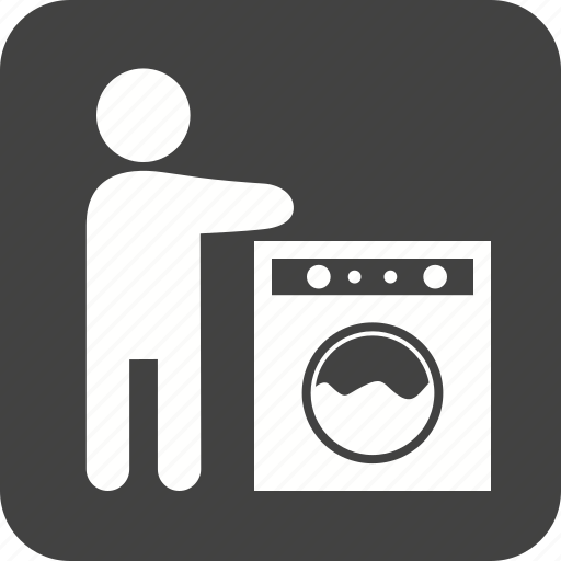 dishes, kitchen, sink, steel, wash, washing, water icon