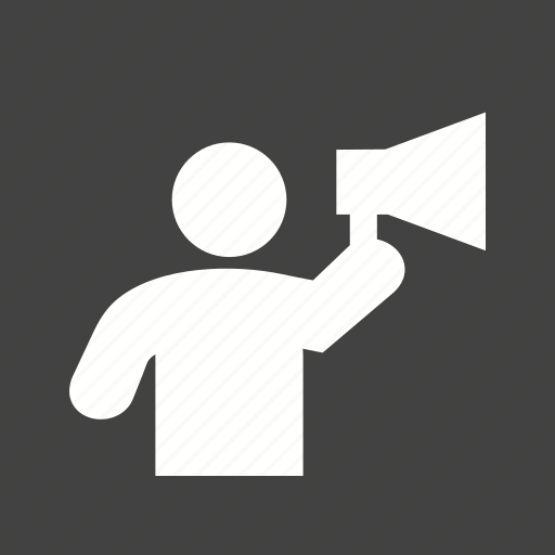 announcement, loud, megaphone, shout, shouting, speaker, voice icon