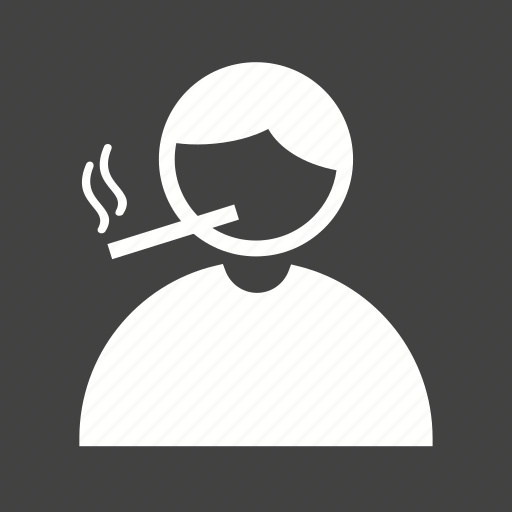 addiction, cigarette, health, man, nicotine, smoke, smoking icon