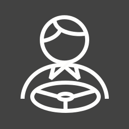 accident, car, drive, driver, driving, luxury, seat icon