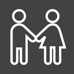 doctor, family, hand, hands, help, holding, people icon
