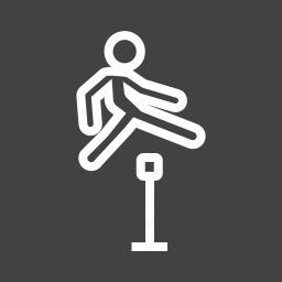 happy, jump, jumping, kids, man, people, running icon