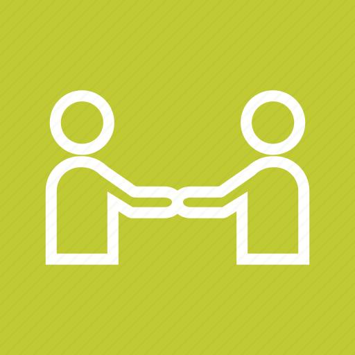 business, corporate, handshake, meeting, office, people, trust icon