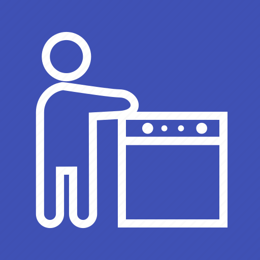 dishes, kitchen, sink, steel, wash, washing, water icon