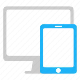adaptive, desktop, responsive, tablet icon