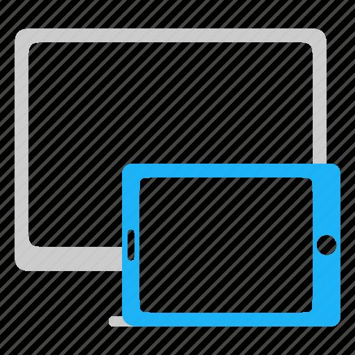 adaptive, desktop, responsive, tablet icon