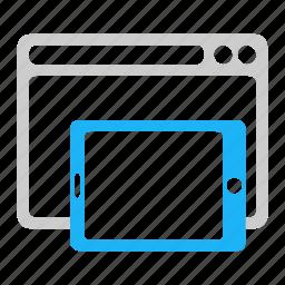 adaptive, responsive icon