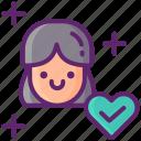 addiction, heart, prevention, relapse icon