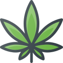 addiction, drug, fun, leaf, marijuana icon