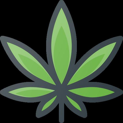 addiction, drug, fun, leaf, marijuana icon