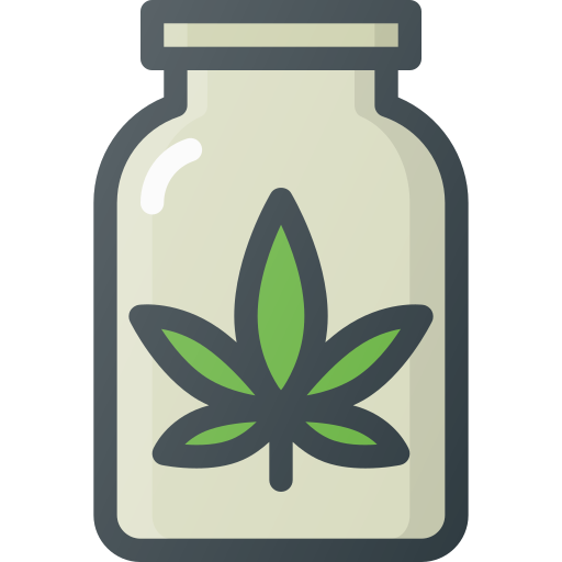 addiction, drug, fun, jar, marijuana icon