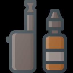addiction, cigarette, electronic icon