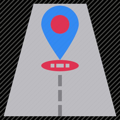 position, road, site, web, where icon