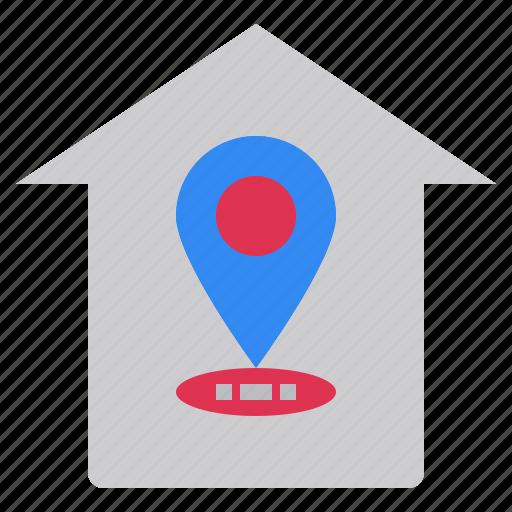 home, position, site, web, where icon