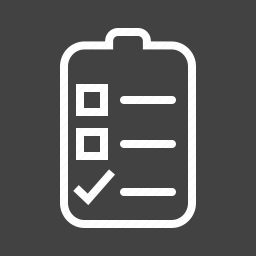 Bulleted list, chart, checklist, document, list, numbered, tasks icon - Download on Iconfinder