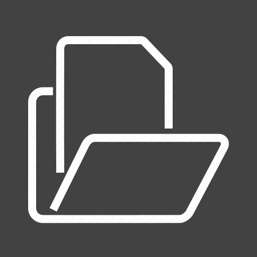 Data, documents, file manager, folder, management, record, store icon - Download on Iconfinder