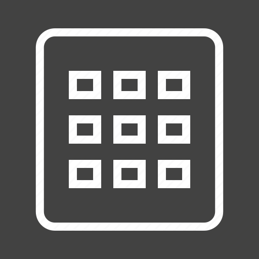 Display, files, grid, items, layout, setting icon - Download on Iconfinder