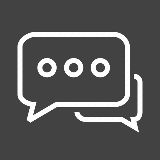 chat, communicate, communication, message, talk, text, write icon