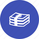 bills, cash, currency, dollar, monetary, money, payment icon
