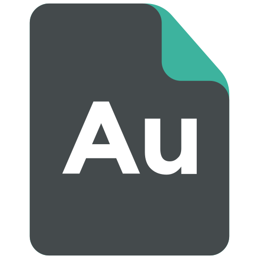 adobe, adobe audition, extension, format icon icon