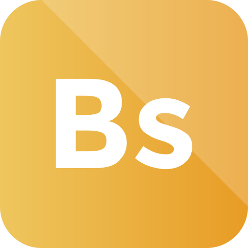 bs, bs icon, extension, file, format, pl icon