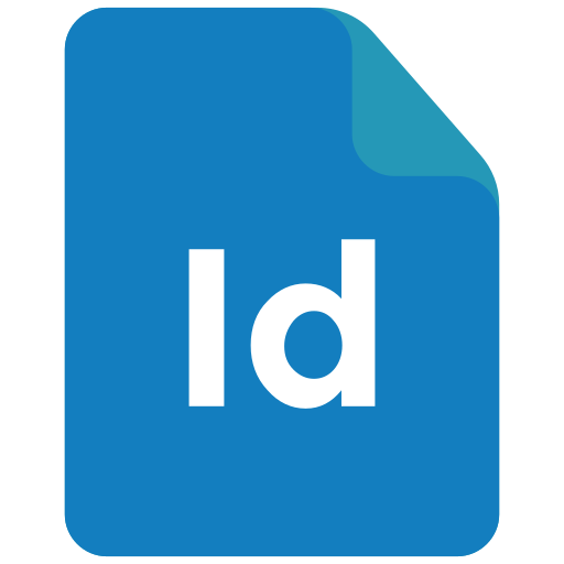 adobe, extension, format, indesign icon icon