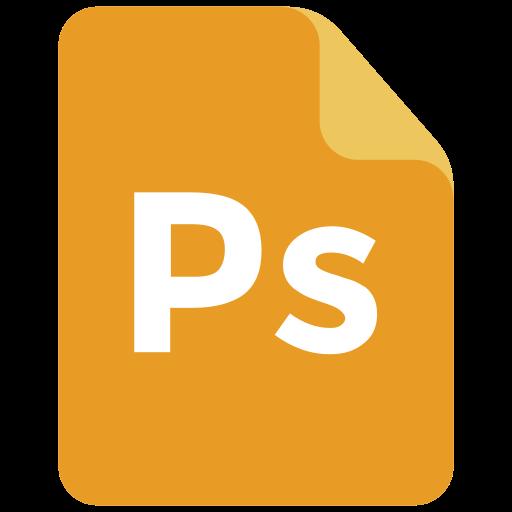 adobe, extension, format, photoshop icon icon